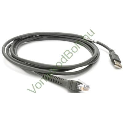 Motorola-Symbol USB univerzális kábel, 7 láb egyenes