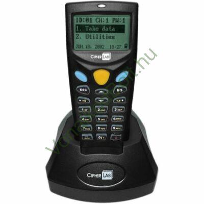 Cipherlab CPT-CL8001 adatgyűjtő, beépített CCD olvasó, USB dokk, tápegység