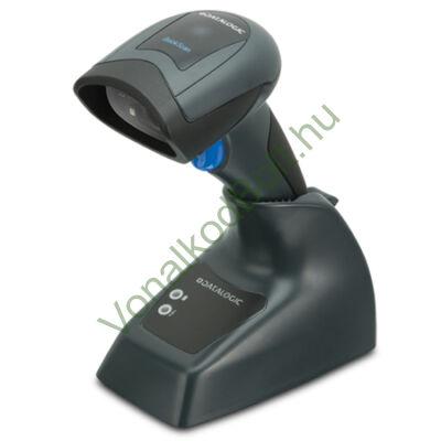 Datalogic QuickScan I QBT2430 vezeték nélküli 2D Imager vonalkódolvasó, dokk, USB kábel
