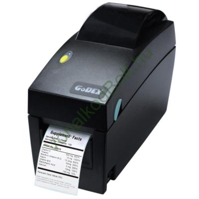 GODEX DT2X 203dpi DT Termo címke és vonalkódnyomtató