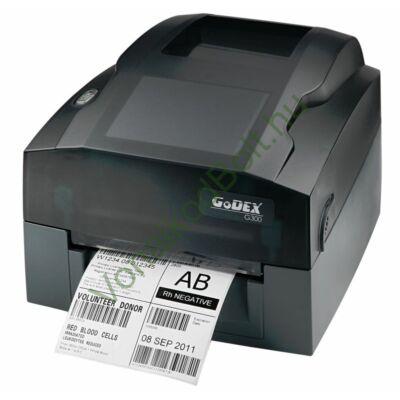 GODEX G330 300dpi DT/TT Termo és Termo Transzfer címke és vonalkódnyomtató