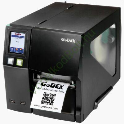 GODEX ZX1200i 203dpi Termo Transzfer címke és vonalkódnyomtató - USB, RS232, LAN (ETHERNET) interfész