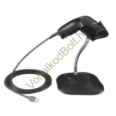 Motorola-Symbol-Zebra LS1203 lézeres vonalkódolvasó, tartóállvánnyal, kábellel