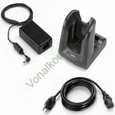 MC3100 1 részes kommunikációs dokk, töltő, tartalék akkumulátor töltő, USB kábellel, tápegységgel