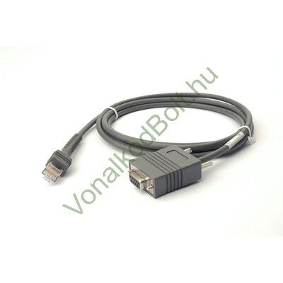 Motorola-Symbol  szabvány soros, RS-232 kábel, 7 láb egyenes, univerzális