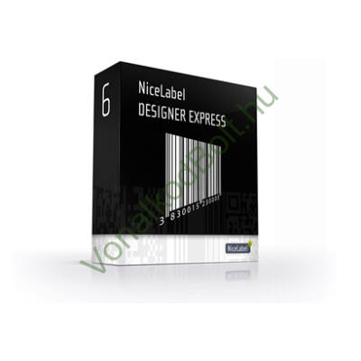 NiceLabel Designer Express: vonalkód-címke-nyomtató program