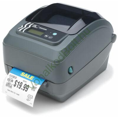 Zebra GX420t 203 dpi Termo Transzfer és Direct Termo asztali címke- vonalkód-nyomtató