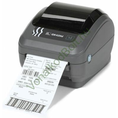 Zebra GK420d Direct Termo 203dpi asztali címke- vonalkód-nyomtató