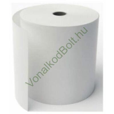57/50/12 termo pénztárgépszalag tekercs / 57mm széles 50 mm átmérőjű TH hőpapír nyomtatott hátoldallal