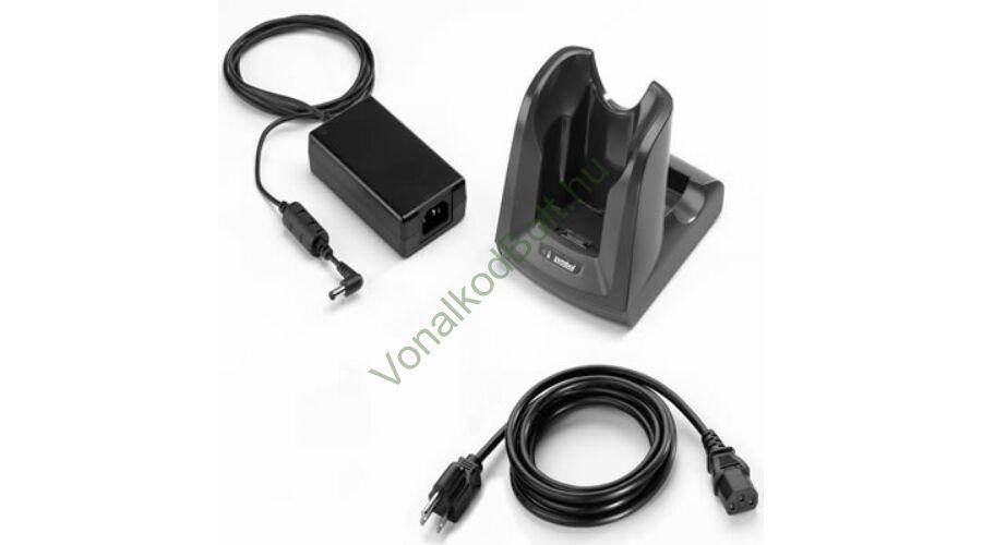 MC3100 1 részes kommunikációs dokk, töltő, tartalék